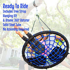 galaxy tree swing hanging kit 360º swivel rotator