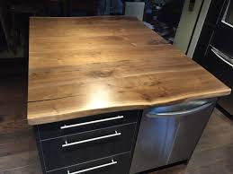 walnut wood kitchen countertops