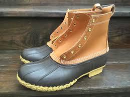 ll bean s boots size 12 brand l l bean s 8 bean boot size 12 m brown ebay