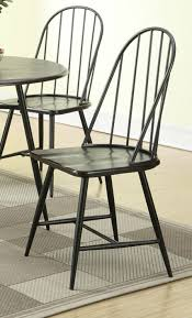 Black Metal Dining Room Chairs Dining Room Awesome Black Metal Dining Chair Creating An Urban