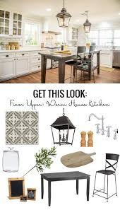 Aldi Filing Cabinet Remodelaholic Get This Look Fixer Upper Worm House Kitchen