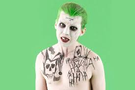 halloween face decals how to make squad u0027s the joker costume for halloween brit