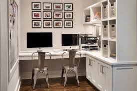 functional ideas to decorate home office for two