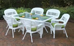 White Aluminum Patio Furniture Sets by Ideas On White Wicker Patio Furniture Decor Crave