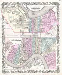 Map New Orleans by File 1855 Colton Plan Or Map Of New Orleans Louisiana And
