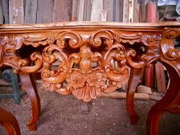 cedar wood sculpture wood carving fredy huaman restoration