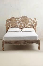 Lotus Bed Frame Handcarved Lotus Bed Lotus And Bedrooms