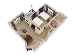 Hilton Sedona Floor Plan 3d Suite
