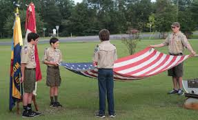 Ceremony Flag Molino Scouts Hold Flag Retirement Ceremony With Gallery