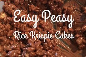 easy peasy rice krispie cakes dear mummy blog