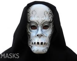 Halloween Death Costume Death Eater Etsy