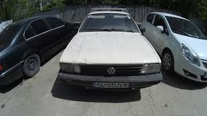 old rusty volkswagen old rusty volkswagen passat cl car from the early 80s youtube