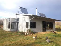 enjoying energy efficient off grid modern prefab sip home passive