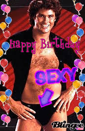 David Hasselhoff Meme - happy birthday gif find share on giphy