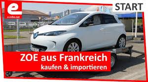 Kauf Kaufen Zoe Aus Frankreich Kaufen Und Importieren Elektroauto Kauf