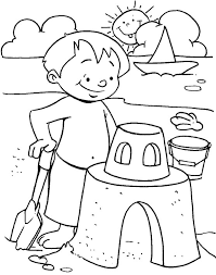 Summer Coloring Pages For Kids Printable Coloring Pages 8 Summertime Coloring Pages