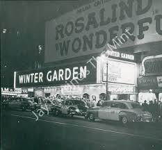 Winter Garden Theather Wonderful Town Music By Leonard Bernstein Book By Joseph A