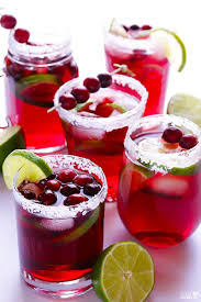 our fave holiday drinks cranberry margarita margaritas and