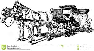 carriage horses stock images image 29931324