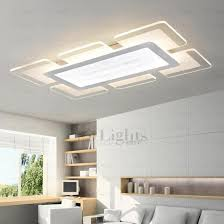 Led Kitchen Lighting Fixtures Luxurious Quality Acrylic Shade Led Kitchen Ceiling Lights Of