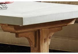 Trestle Coffee Table Rustic Farmhouse Trestle Wood Corbel Coffee Table Architectural
