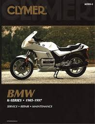 bmw k series k75 k100 k1100 k1 repair manual 1985 1997 clymer