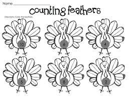 free printable thanksgiving math worksheets for kindergarten