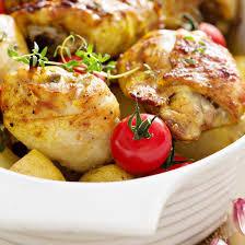 poulet cuisine recette cuisses de poulet à la moutarde