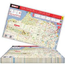 map pad of mapsf padded map 7 pads per free san francisco