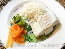 cuisiner un dos de cabillaud dos de cabillaud tagliatelles de légumes riz recettes pour le