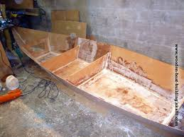 Free Small Wood Boat Plans by Stitching The Plywood Panel With Epoxy Resin Diy Small Wooden