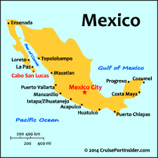 map cabo mexico cruiseportinsider cabo san lucas basics