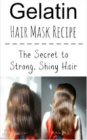 essential oils for hair growth and thickness gelatin hair mask