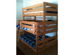 B Triple Bunk Bed Full The Bunk  Loft Factory - Triple lindy bunk beds