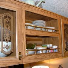Kitchen Cabinet Inserts Home Decor Diy Update Your Kitchen With Fabric Cabinet Door