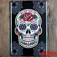 online get cheap skull metal art aliexpress com alibaba group