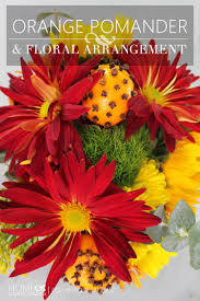 make thanksgiving beautiful with centerpieces from belle fiori remodelaholic orange pomander floral arrangement how to make an bouquet for innovative office design