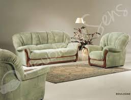 canapé classique tissu boulogne canapé rustique classique tissus et bois amazon fr