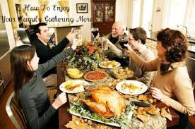 to enjoy your family gathering more