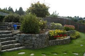 landscaping a slope lowes creative ideas home landscape slope