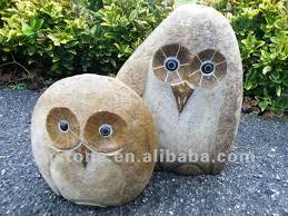 garden carvings mini owl sculptures owl statues