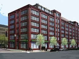 conceptual mixed use design envisioned for printer u0027s row parking