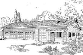 bungalow garage plans traditional house plans garage w living 20 023 associated designs