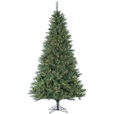 the aisle 9 green pine artificial tree with 900