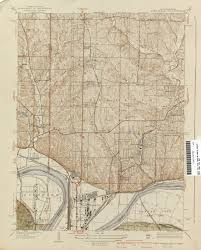 Kansas City Map Kansas Historical Topographic Maps Perry Castañeda Map