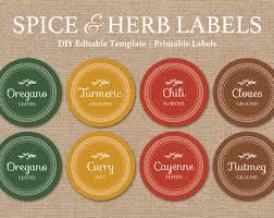 editable printable jar labels editable spice labels printable diy kitchen decor black