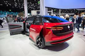 volkswagen u0027s id crozz looks electrifying in red cnet page 4