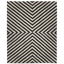Modern Rug 8x10 Jonathan Adler Black Bridget Kilim Rug 8x10 In All New Spaces