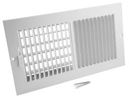 Ceiling Air Vent Deflector by Accord Abswwh2104 Sidewall Ceiling Register With 2 Way Design 10