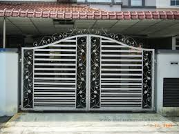 Simple main gate design newfangled modern designs for homes
